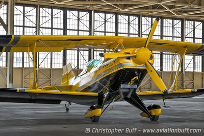 Buck Roetman's Pitts  - By Christopher Buff, www.Aviationbuff.com