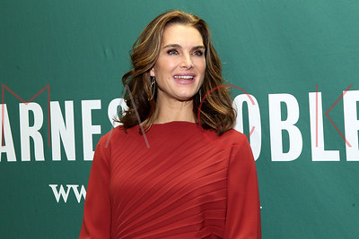 """NEW YORK, NY - NOVEMBER 18:  Brooke Shields In Conversation With Willie Geist: """"There Was a Little Girl"""" at Barnes & Noble Union Square on November 18, 2014 in New York City."""