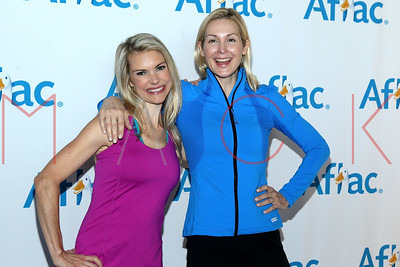 NEW YORK, NY - OCTOBER 09:  The Kelly Rutherford And Aflec Yoga Campaign Launch attend The Standard Hotel on October 9, 2014 in New York City.