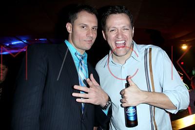"ATLANTIC CITY, NJ - OCTOBER 25:  The Downbeach Festival Party Celebrating ""The Jersey Devil"" / ""The Coffee Shop"" & 7 years of Atlantic City Cinefest at Dusk Nightclub, Caesars Casino on October 25, 2014 in Atlantic City, United States."