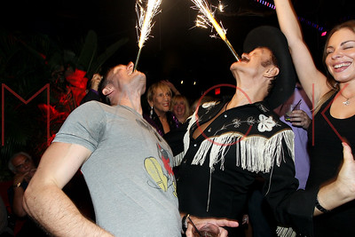 NEW YORK, NY - SEPTEMBER 12:  The 14th Annual Kings and Cowboys Birthday Celebration for Actor Keith Collins and Original Village People Cowboy Randy Jones at The DL on September 12, 2014 in New York City.