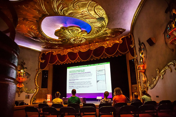 """The 20 Million Minds Foundation sponsored a screening of """"Ivory Tower"""" at the Crest Theatre in downtown Sacramento on June 16, 2014."""