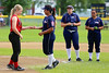 Northern and Southern California squared off on Day 4 of the Little League Western Region Senior Softball Tournament in Missoula, MT. Umpiring were Rich Oberman, Dennis Cusick and Keith Evans.
