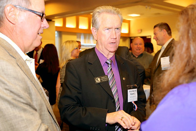 Rancho Cordova Vice Mayor Robert McGarvey attends the annual Elected Officials Reception, sponsored by Rancho Cordova Chamber of Commerce (RCCC). The reception was held at Vision Service Plan Offices on June 11, 2014. RCCC photos sponsored by Republic Services.