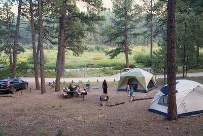 Camping cut short