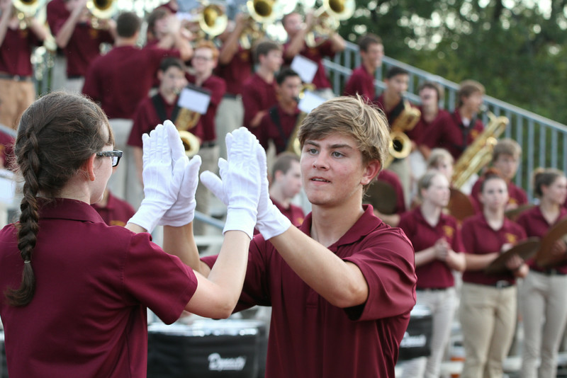 Dripping Springs High School Band 2014 - Game 1
