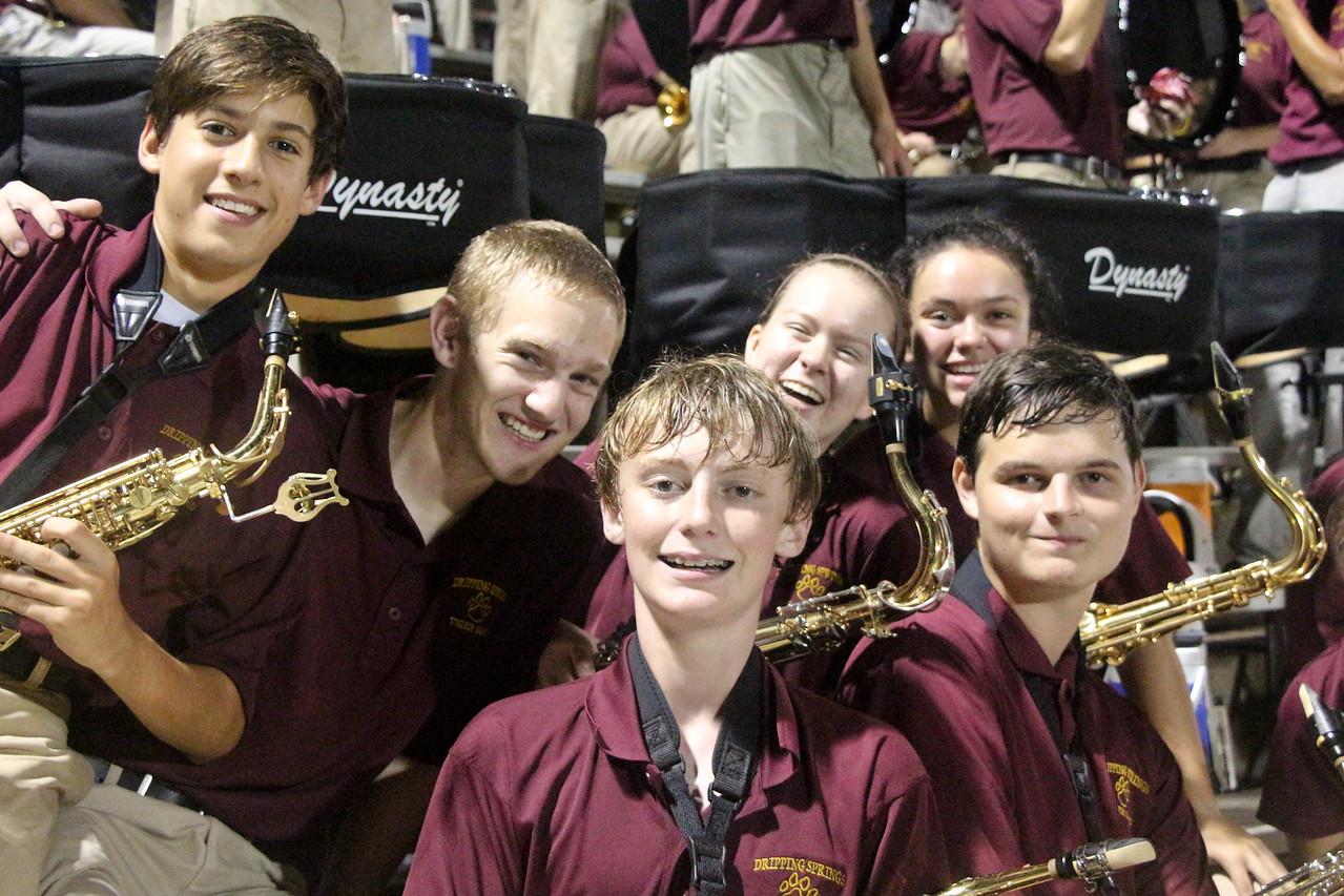 Game 2  - Austin High - DSHS Tiger Band