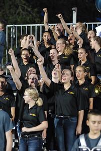DSHS Tiger Band 20140919 vs Cedar Park