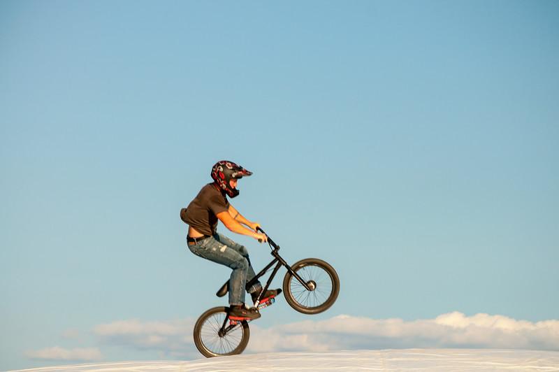 Biking on Clouds