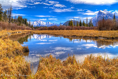 Vermillion Lakes area