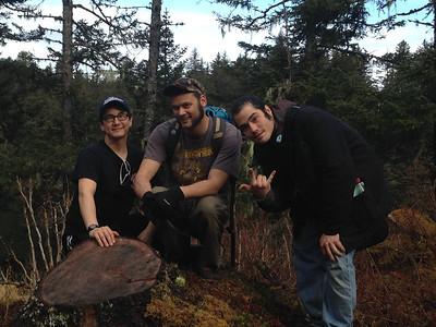 Brian, Erick and Thomas