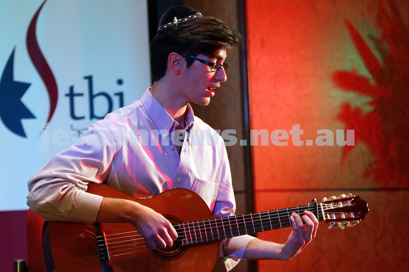 14-9-14. B'nai B'rith Youth Eisteddfod 2014. Finals Concert, Slome Hall, Temple Beth Israel. Photo: Peter Haskin