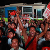 Web photo, by Amadine Roche - 2012 By-elections - NLD victory