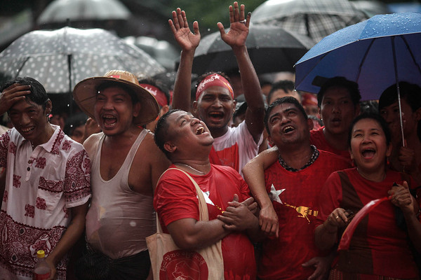 Web photo: November 2015 Elections and pre-election rallies: It was suspenseful and in the end Aung Sang Suu Kyi's NLD party had a resounding victory.