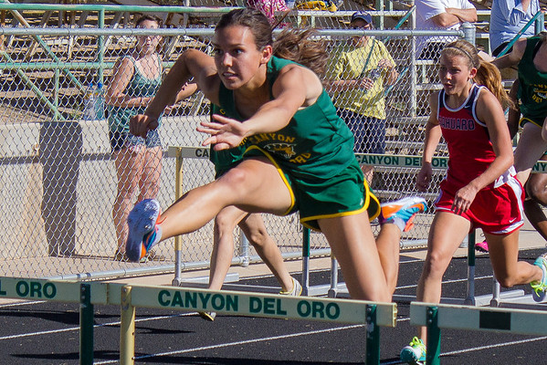 CDO High School Home Track Meet 4-16-2014