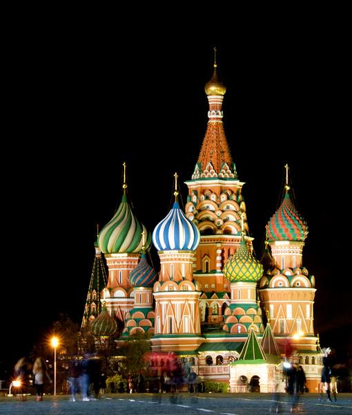 St Basil's - most charming at night