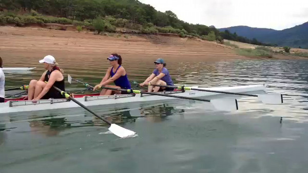 Ashland Camp 2 Scull Day 1- Mo Video