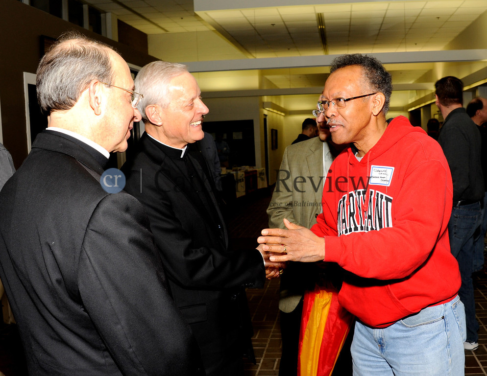 Catholic mens conference at Calvert Hall by Bill Mcallen