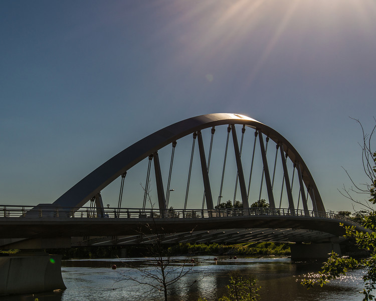 Main Street Bridge at Dusk