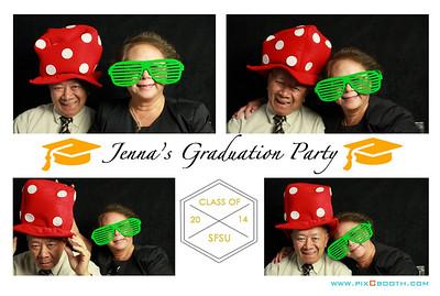 6-28-2014 Jenna's Grad party