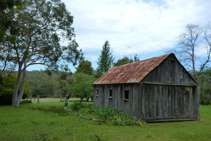 Scott's Hut. <br /> <br /> Photo from Sue Brown, team 11