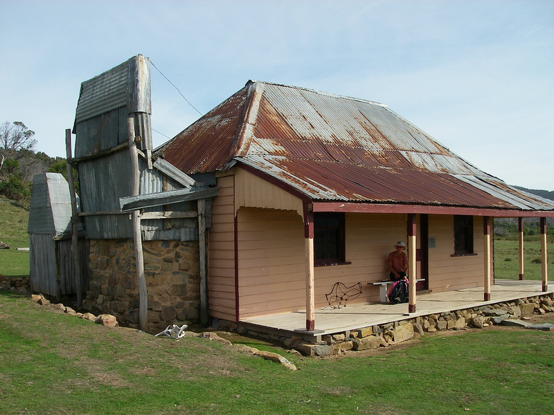 Old Currango Homestead - first built in 1873 with many extensions and renovations over the years.