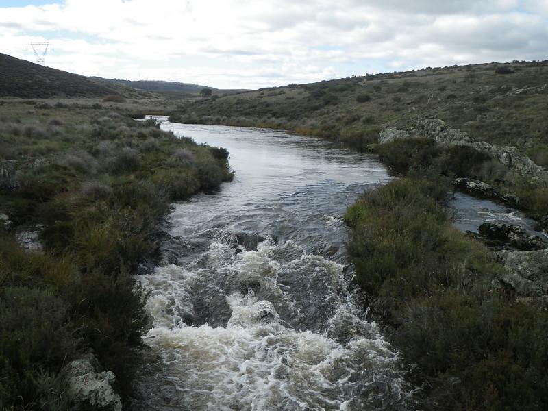 The streams were in full flow following the rain!