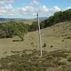 Old telegraph line along the Australian Alpine Walking Track