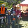 Miranda Sherley, Brian, Edgar and Rhiannan McNamara - second family team, 2014 ACT Championships.
