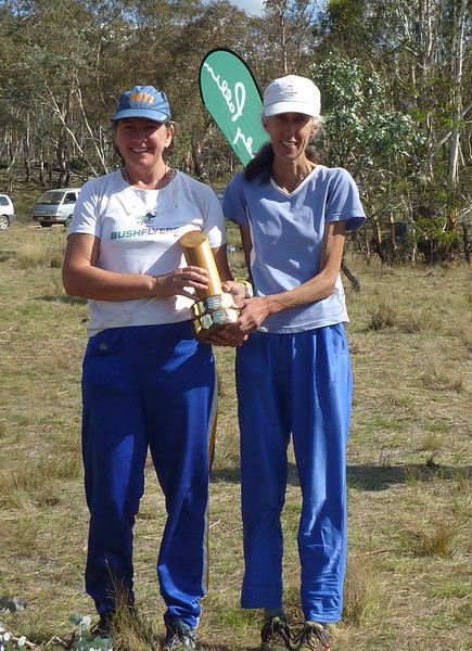 Toni Brown and Carol Harding - won the Womens Open and Womens Veterans categories.
