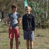 Oliver Mill and Ciaran Lane - 2014 Paddy Pallin 6hr Junior Winners.