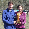 Mark Euston and Laure Gauthiez Putallaz - Mixed Open winners.