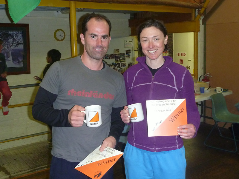 First Mixed Open -  Kieran Macdonell and Clare Lonergan