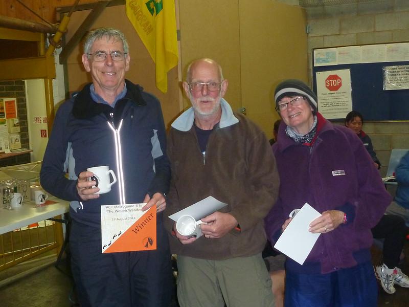 First Mixed Supervets - Grant Battersby, Terry Dixon, Helen McAuley