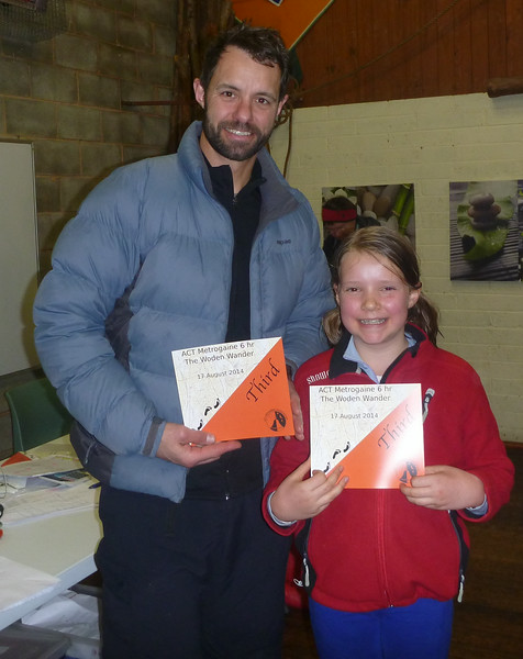 Jeff and Lila Howell - third in the family category.