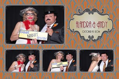 Alandra & Andy's Wedding