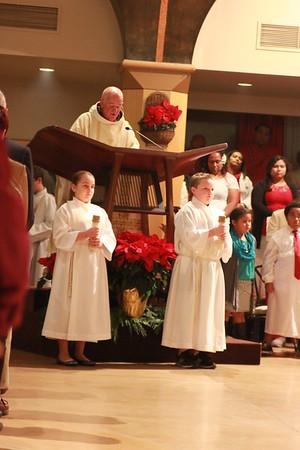 12-24-2014 Christmas Eve Mass (7:00 p.m.)