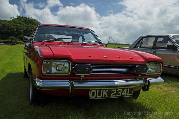 Hoghton Tower Classic Car Show 2014.