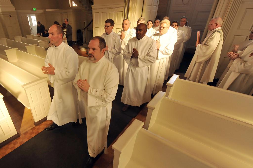 Institute for Diaconal Studies, Institution of Acolyte, November 2, 2014