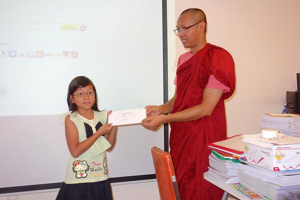Simi Pu Zaw Pwe Drawing Contest