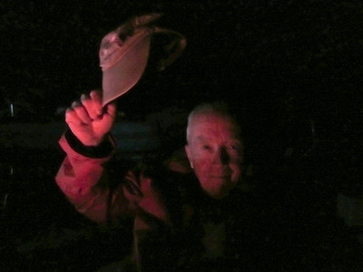 Dad at the Campfire