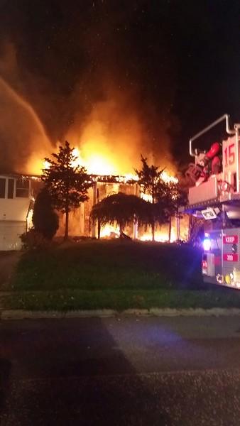 10-19-2014 (Burlington County) WILLINGBORO - 72 Ember Lane - Dwelling Fire