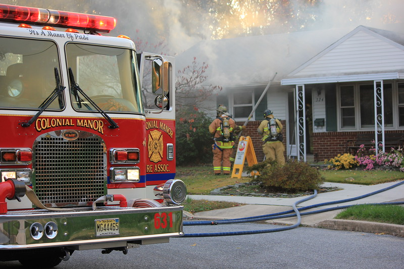 11-7-2014 (Gloucester County) WEST DEPTFORD 324 May Ct. Dwelling Fire