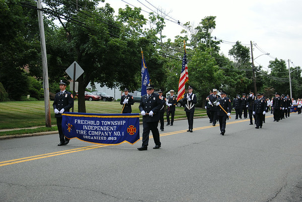 Freehold Independent Fire Company 50th Anniversary Parade