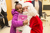 Santa Claus and The Fort Lee Police Department, made an appearance at Holy Name Medical Center in the pediatrics and labor and delivery departments on December 18, 2014.  Photo by Victoria Matthews/Holy Name Medical Center