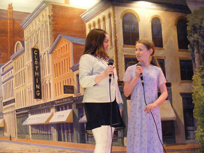 Ella Ballou and Abby Merseal singing, Nothing More