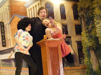 Clown Caper, Nick Bishop and Clown Obsessed Victim, Riley Cross