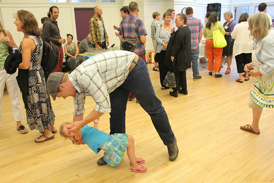 IMG_1510 JPG seth westbrook dips daughter aven,4, of pomfret to music by Carter Glass