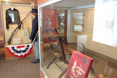IMG_7924 JPG exhibit include chair owned by gen sheridan and books owned by coolidge