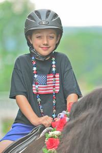 """Jack Moody rides horse """"Windsor"""""""